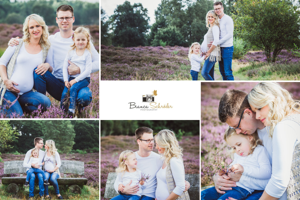 Babybauch Familien Fotoshooting
